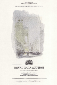 Auction Gala Programme